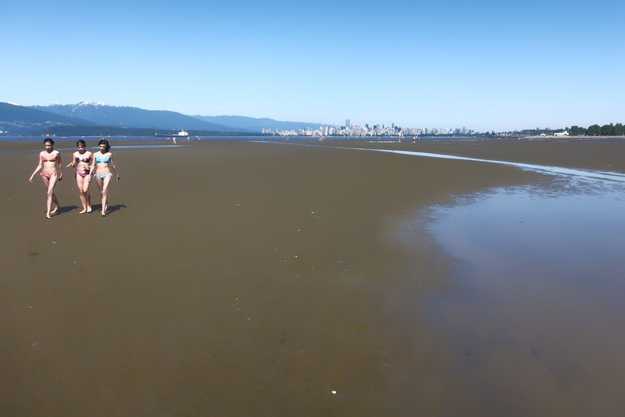 Three Girls - Vancouver, British Columbia
