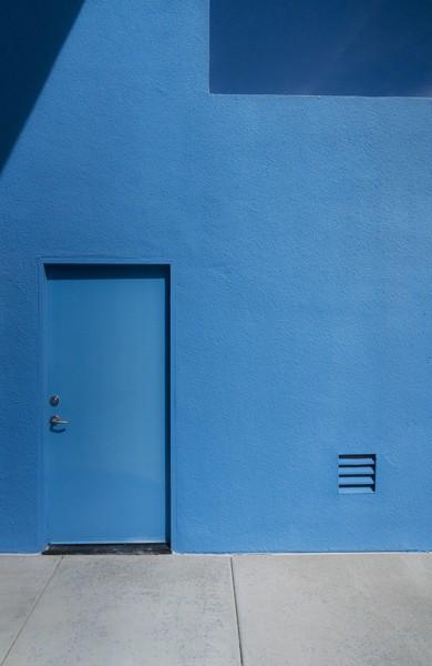 Blue Entry
