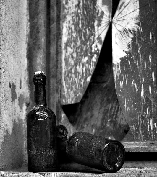 Old Beer Bottles