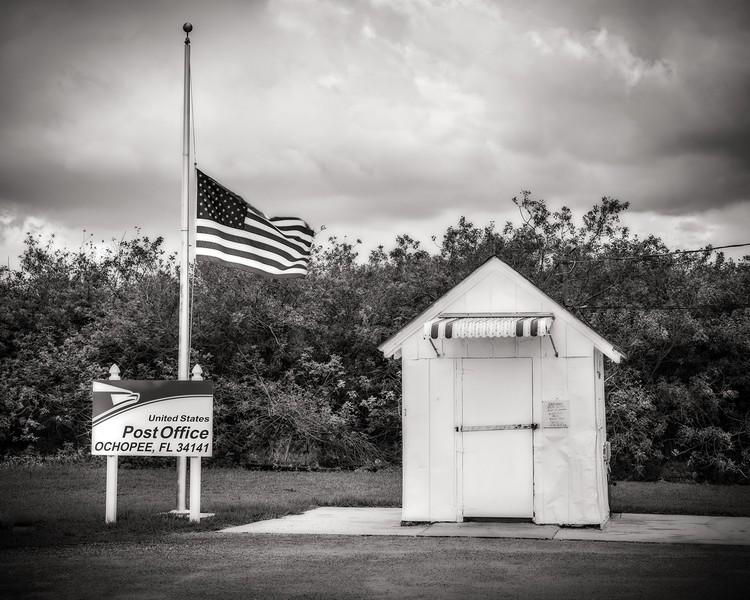 United States Post Office, Ochopee, Florida