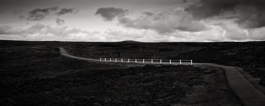 White Fence, Hawai'i Volcanoes National Park