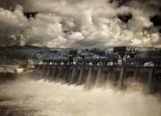 Bonneville Dam Spillway, Columbia River, Oregon