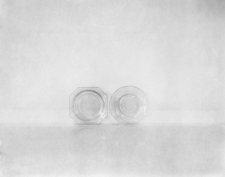 Two Glass Plates, 11x14""