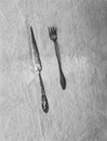 Fork and Knife, 8x6""