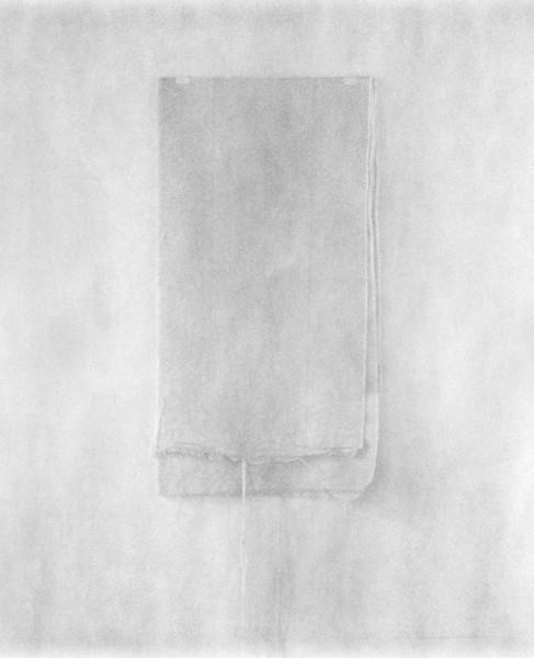 """Folded Cloth, 14x11"""""""