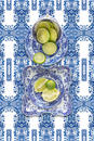 Spode Blue Italian with Lime