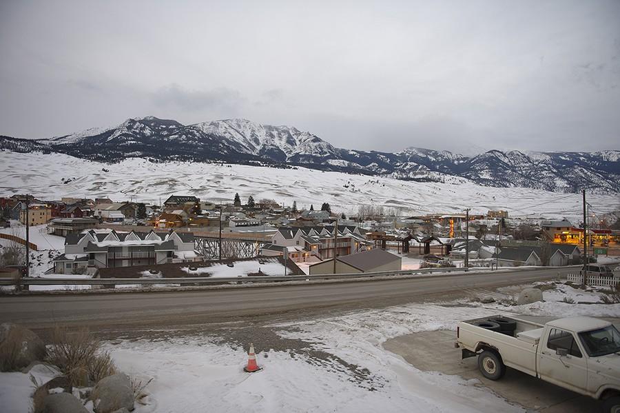 Winter: Gardiner, Montana