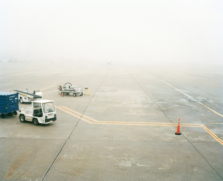 Foggy Runway, Will Rogers Airport, Oklahoma City