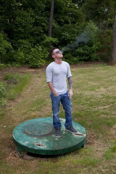 Clint, In His Yard, 2010
