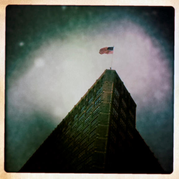 Flag, Varick Street