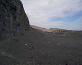Slag dump, formerly  Smeltertown Alta town site