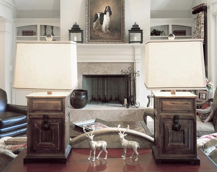 Living room, Greensboro, GA