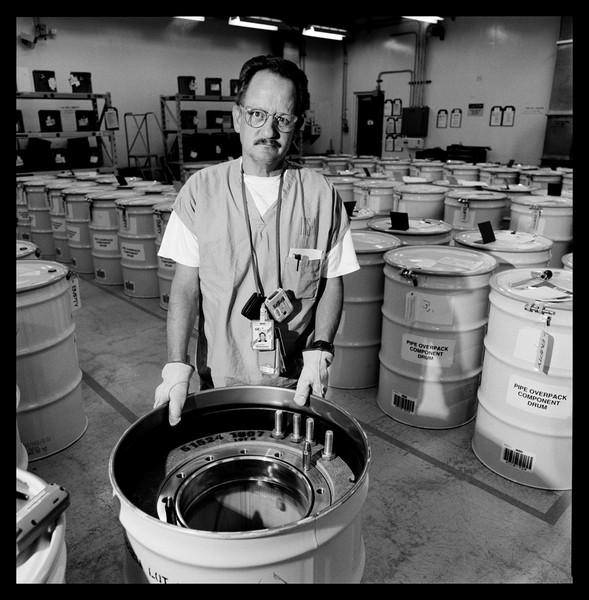 C.A. Nanstiel packing POC drums