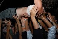 Festie, crowd surfing. 2006.