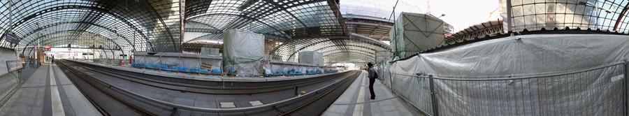 Berlin, Hauptbahnhof (Central Station), 2005