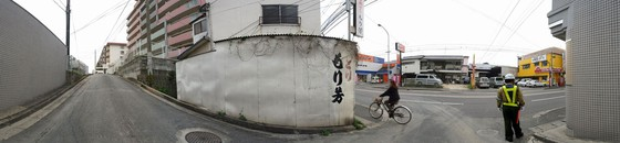 Fukuoka, Street Corner, 2007