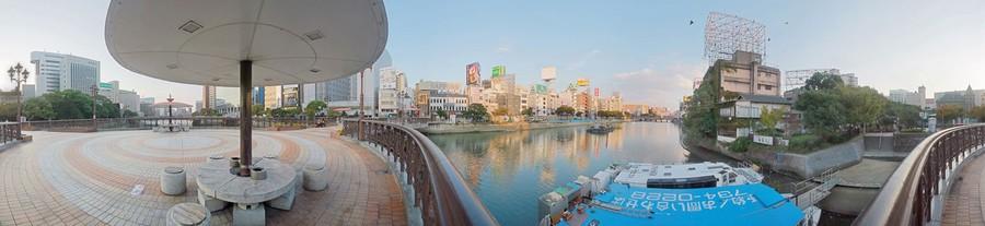 Fukuoka, Fuku-Haku Deai Bashi Bridge, 2008