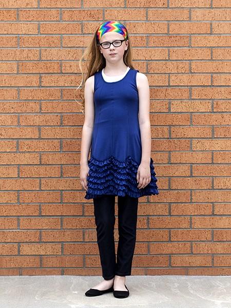 USA Rural School - Girl