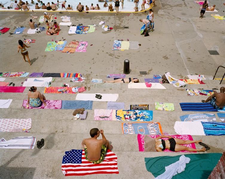 Concrete Bathers, Astoria, NY. 2011