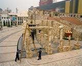 Fixing the Colosseum, Macau, China.  2008