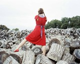 The red Dress, Sagaponack, 2007 , from Home Stills