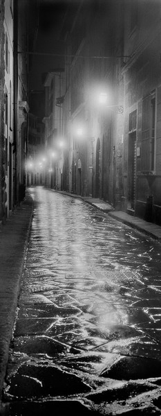 Via delle Terme, 3 a.m., Florence, Italy