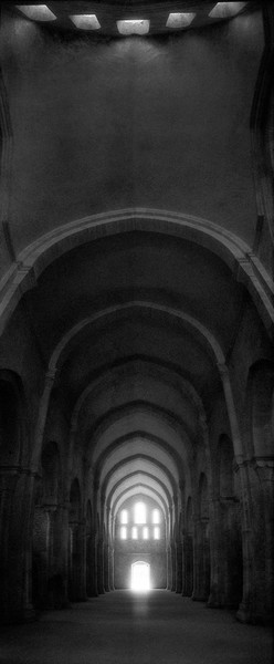 The Church at Fontenay Abbey, France