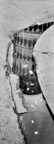 Campanile Reflected, Pisa, Italy
