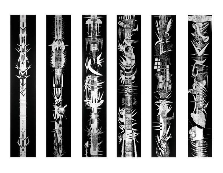 Black Totem Series, GSP, Uniques, 1991-92