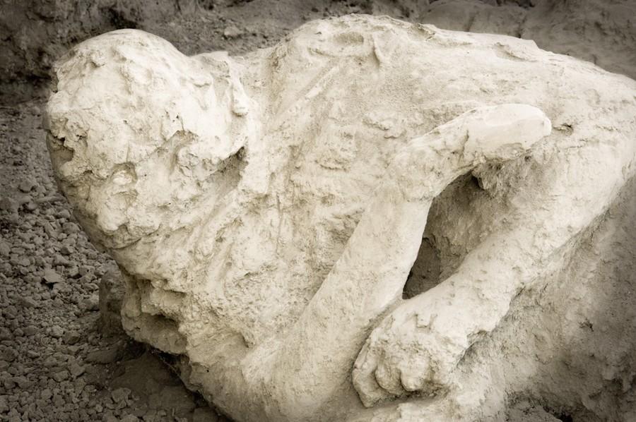 Human cast, Pompeii