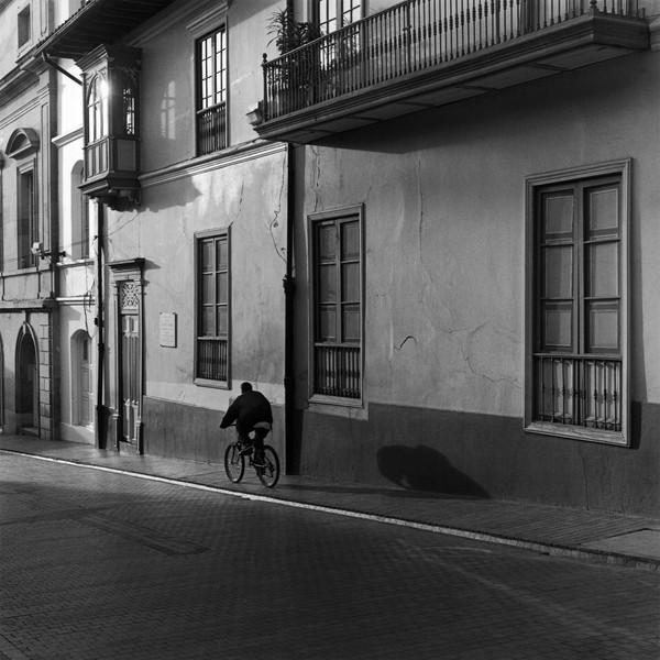 'La sombra del ciclista', Bogota, Colombia, 2000