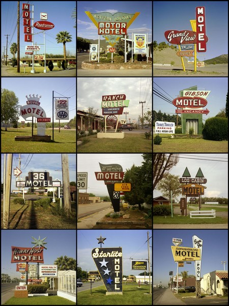 Motel signs, 1979 to 1995