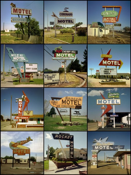 Motel signs, 1997 to 2007