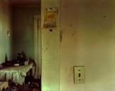 Calendar left on the living room wall in Ingomar, eastern Montana, 1998