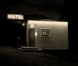 Motel, Highway 85, Deadwood, South Dakota, 1972