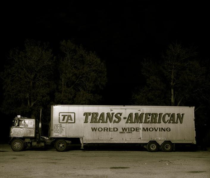 Truck, Highway 66, Ludlow, California, 1972?