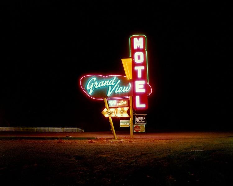Grandview Motel, Raton, New Mexico, 1981