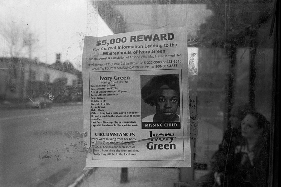 Reward, Bus Stop, Utica, NY 2006
