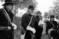 Civil War Reenactment, Peterboro, NY 2002